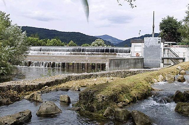 Aus Wasserkraft wird Strom