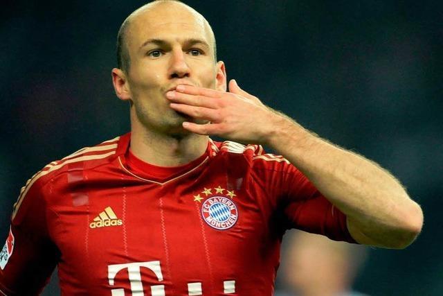 Robben verlängert bis 2015 beim FC Bayern