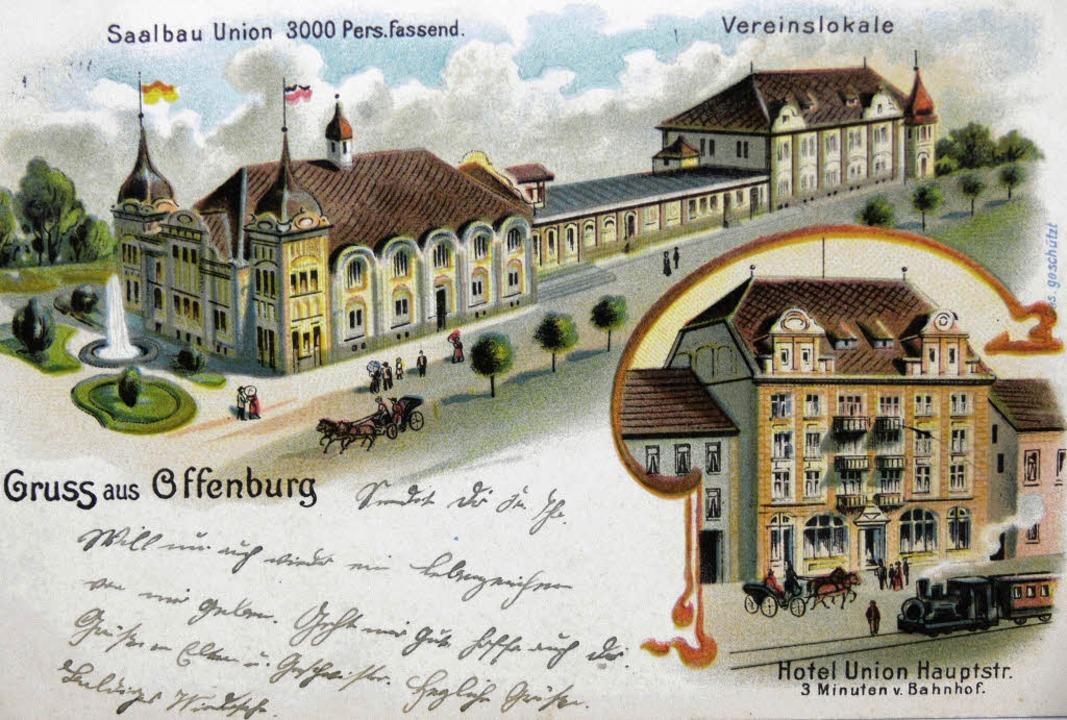 Alte Stadthalle    Foto: Stadtarchiv Offenburg