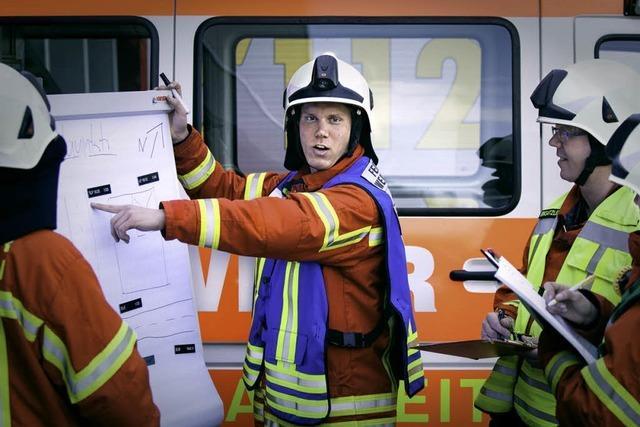 Gute Organisation ist das A und O – auch bei der Feuerwehr