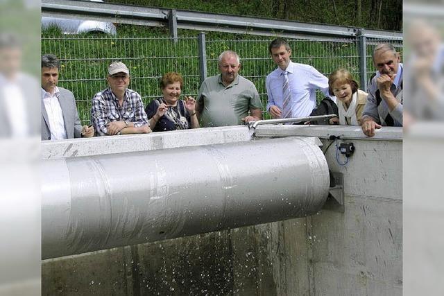 Ortskanalisation und Straßenbauarbeiten in Lembach offiziell übergeben