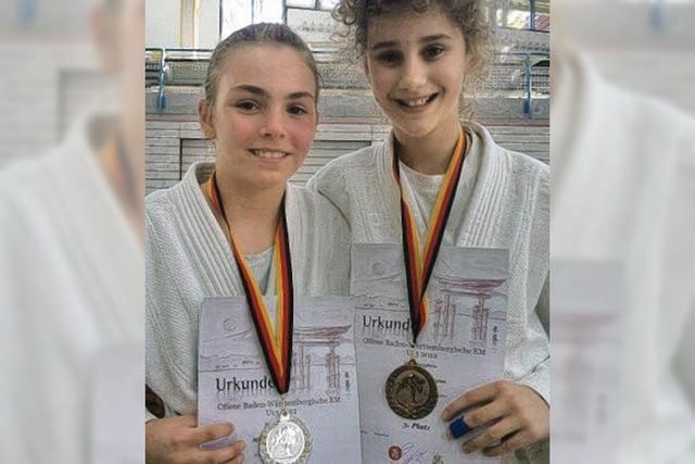Junge Judokas in Baden vorne dabei