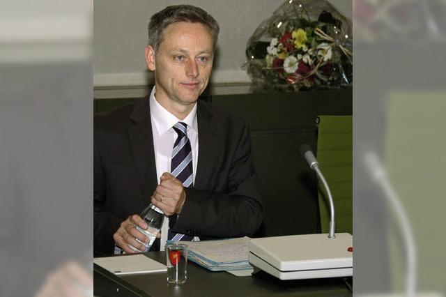 Bürgermeister Wilke vereidigt