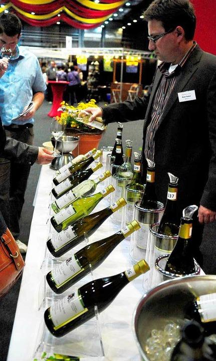 Die Weinmesse Offenburg 2011.  | Foto: Wolfgang Künstle
