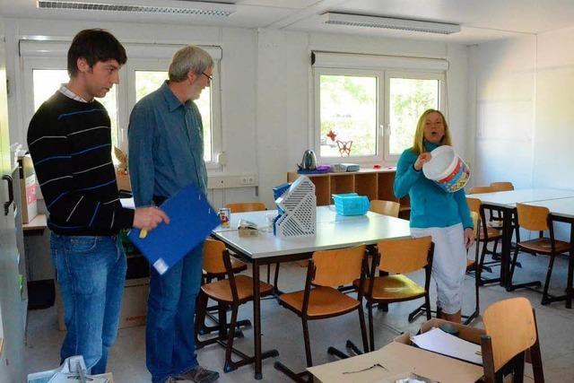 In den Betreuungsräumen der Goetheschule wurde Schimmel entdeckt