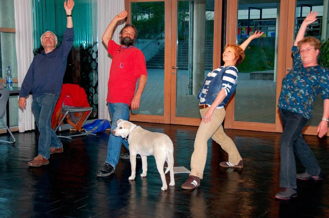 Vom Kettenhund zum Schauspieler: Labra...t sich über seine positive Entwicklung  | Foto: Binner-Schwarz