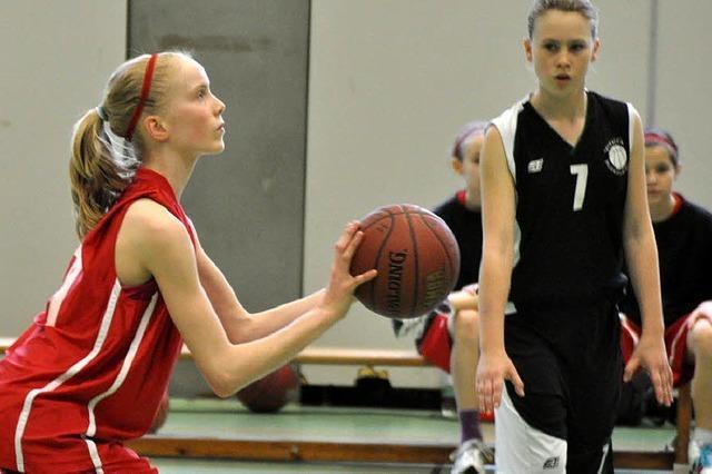 U13-Basketballerinnen vom TV-Staufen sind Badischer Meister