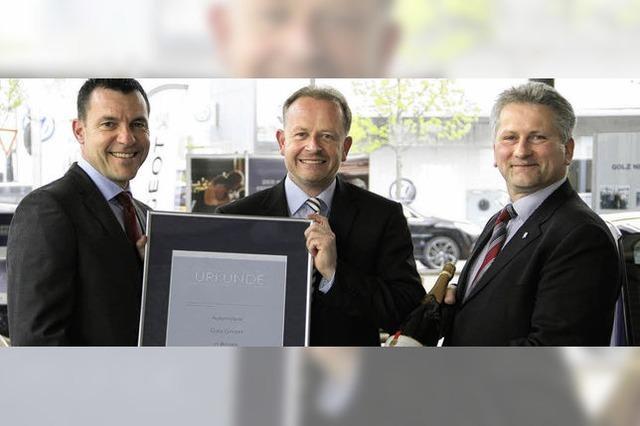 Golz-Gruppe zehn Jahre am Dreispitz