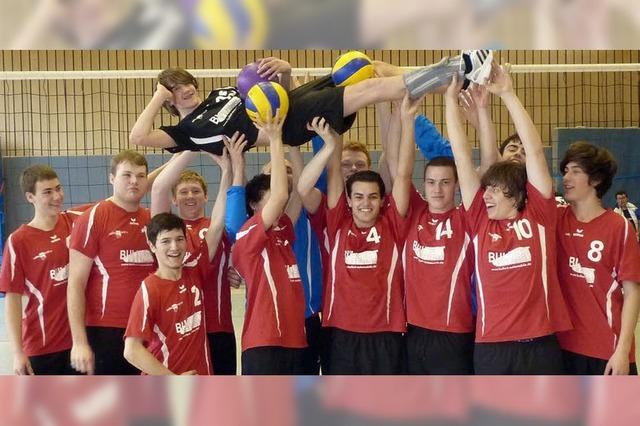 Denzlinger Volleyballer steigen in Landesliga auf