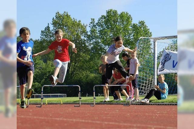 Junge Sportler sind im Team stark