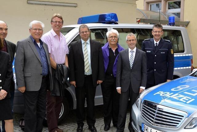 Die Polizei will mehr Polizisten