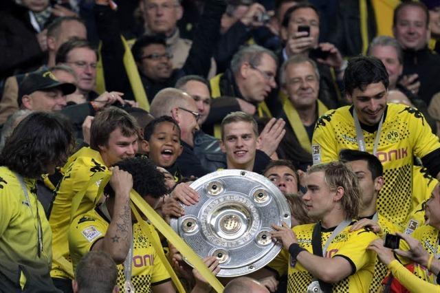 Borussia Dortmund schlägt den SC Freiburg 4:0
