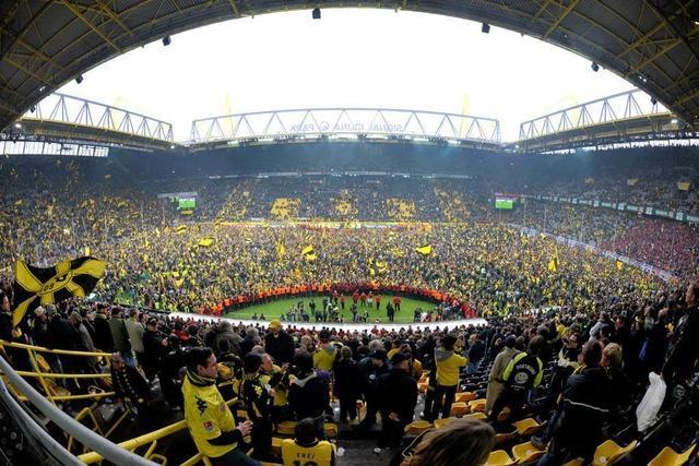 Der SC Freiburg verliert 4:0 gegen Meister Dortmund