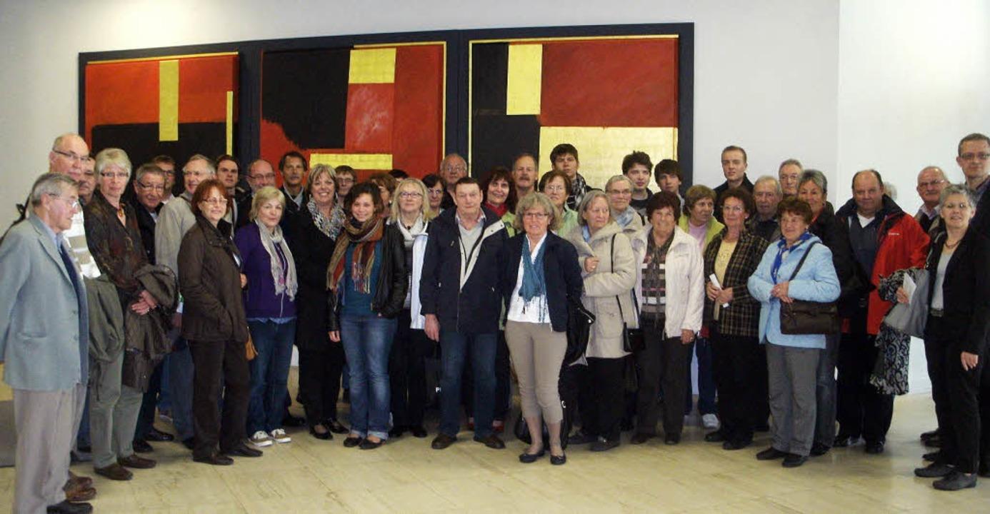 Eine Gruppe aus dem Landkreis Emmendingen besuchte den Landtag in Stuttgart.   | Foto: ZVG
