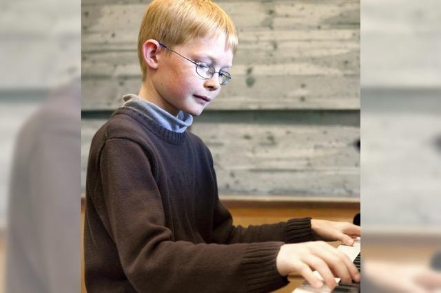 DONNERSTAG: KLASSIK: Der Jungpianist