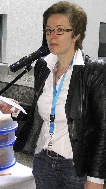 Marita Schmieder, Vorsitzende der Bürg...e die Politik auf, endlich zu handeln.  | Foto: Thomas Steimer