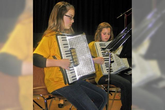 Neue Kurse für junge Akkordeonisten