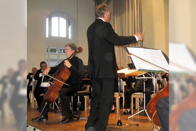 Premiere für Dirigent und seltenes Stück