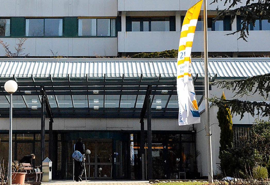Das Kreiskrankenhaus Rheinfelden profitiert vom Förderverein.   | Foto: Ingrid Böhm-Jacob