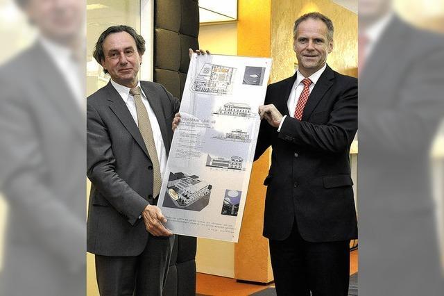 Volksbank stolz aufs Flaggschiff