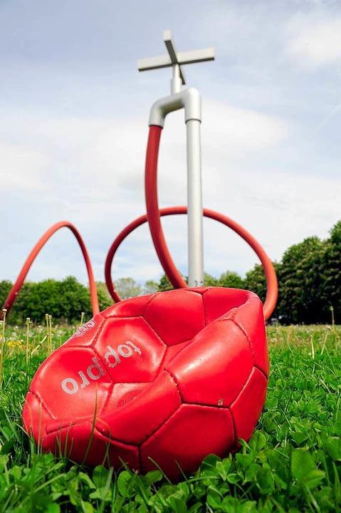Die Luft ist raus: Im Eschholzpark wird kein EM-Spiel übertragen.   | Foto: kunz