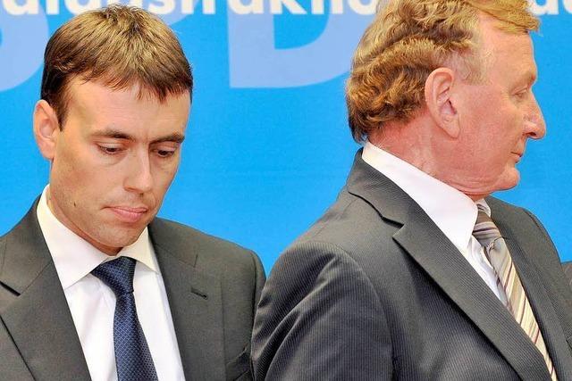 Schmid bürstet Genossen Schmiedel ab