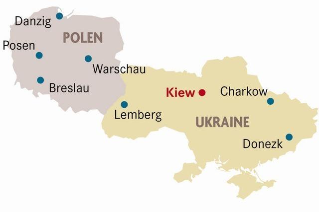 """Kiew: """"Verlassen Sie die Gefahrenzone!"""""""