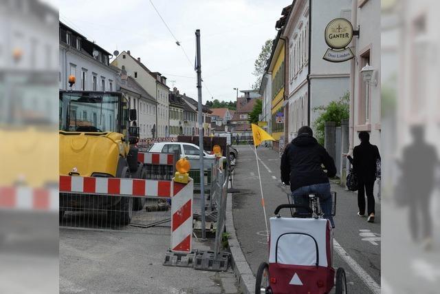 Fußgängerachse statt Fahrradstraße ?