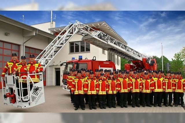 Blick hinter die Tore der Feuerwehr