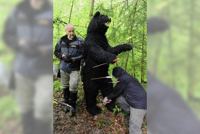 Süchtig nach der Jagd ohne tote Tiere