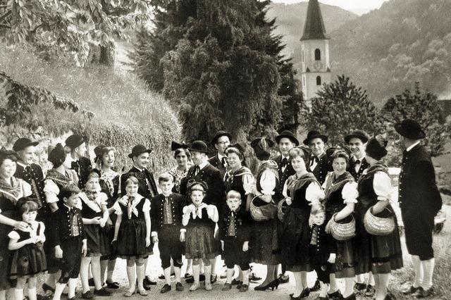 75 Jahre Zeller Trachtengruppe