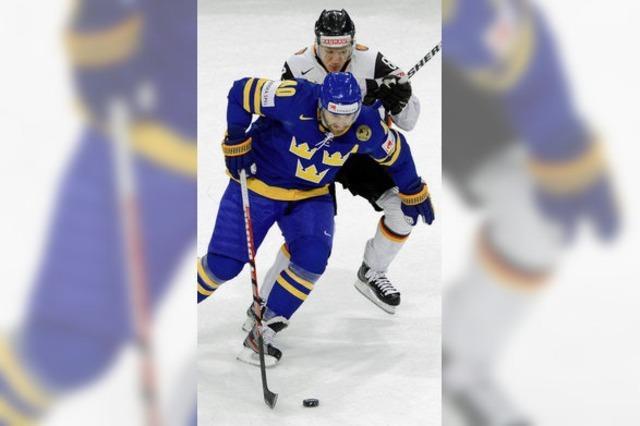 Eishockey-WM: Schweden erteilt Deutschland eine Lehrstunde