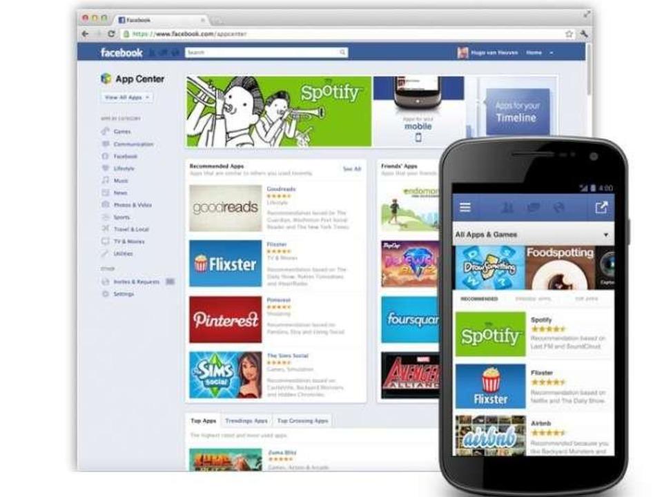 Facebook stellt App Center vor (c) Facebook  | Foto: IDG