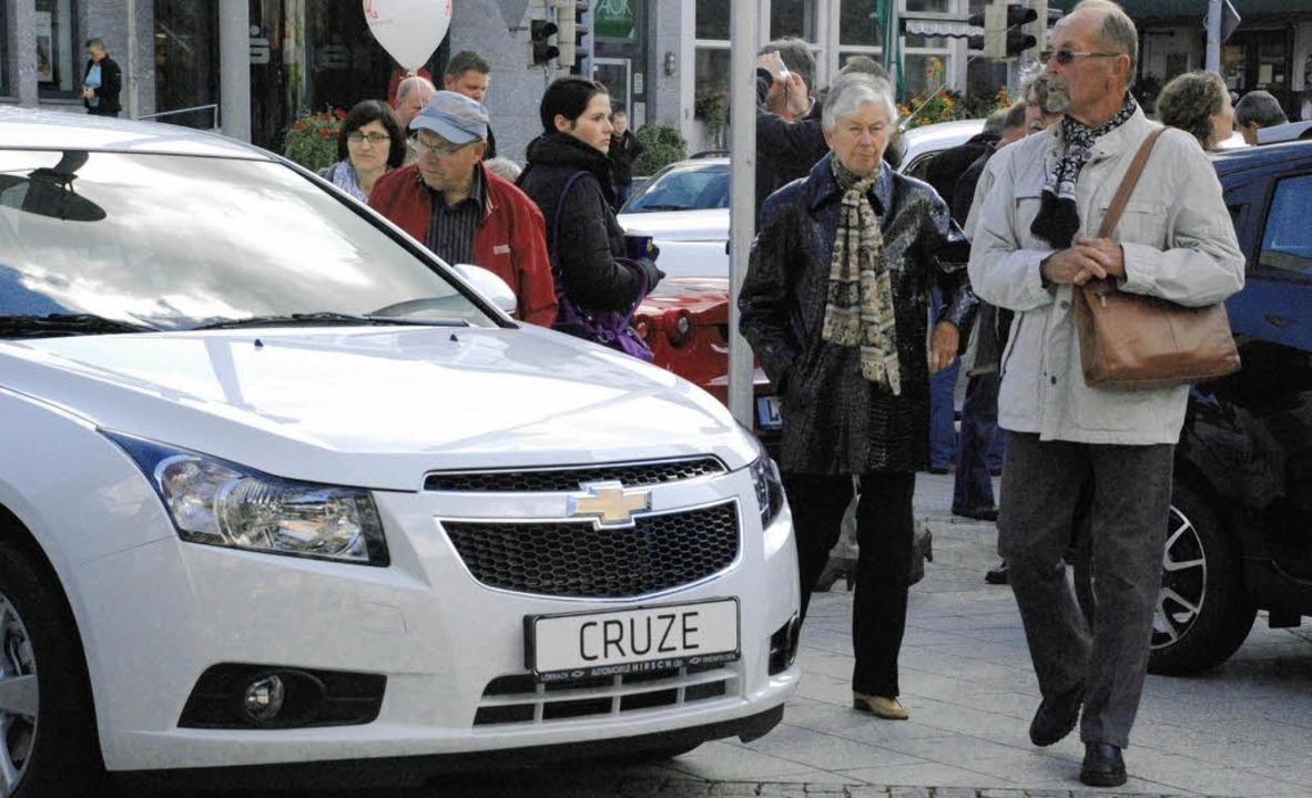Ausgebremst: Die Autostadt wird es nic...hr geben, beschloss der Gewerbeverein.  | Foto: Maja Tolsdorf