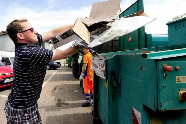Freiburg wehrt sich gegen Mülltourismus aus dem Umland