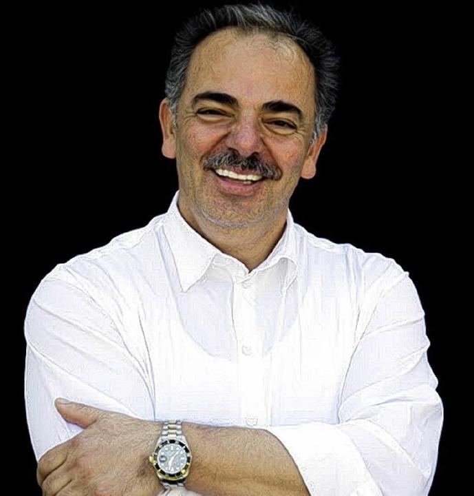 Donato Tauriello, Adler-Chef inEttenheim  | Foto: Michael Wissing BFF