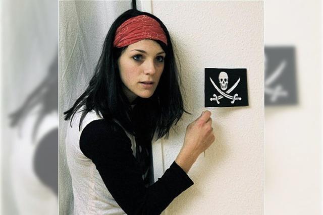 Kindertheater im Vorderhaus: Der Pirat im Treppenhaus