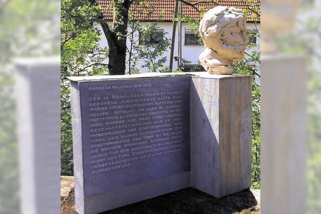 Ein Denkmal für Willmann