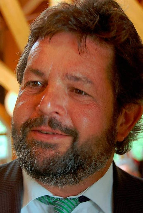 Reinhold Pix, Landtagsabgeordneter der Grünen  | Foto: Markus Donner