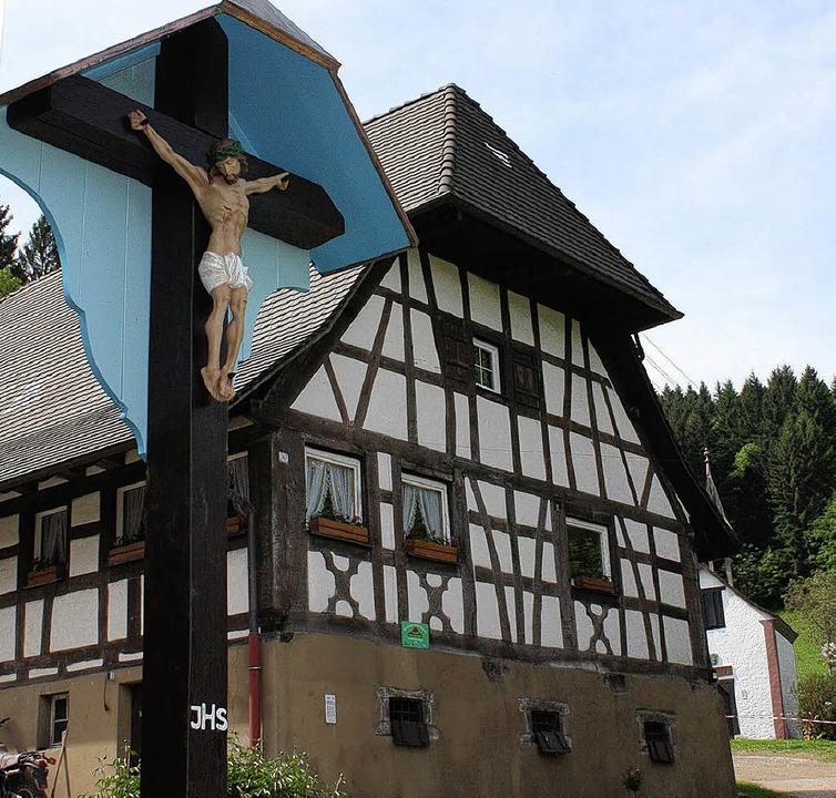 Aus Dank stiftete Heinrich Ketterer di...Maiandacht am Sonntag wieder zu sehen.  | Foto: GAbriele Fässler