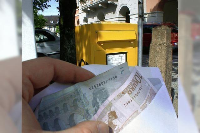 Postdieb dank BZ-Leserin überführt