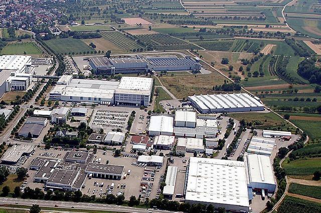 Elgersweier erweitert Industriegebiet