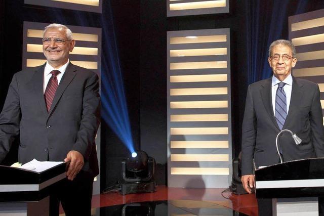 Ägypten schaut gebannt das erste TV-Duell