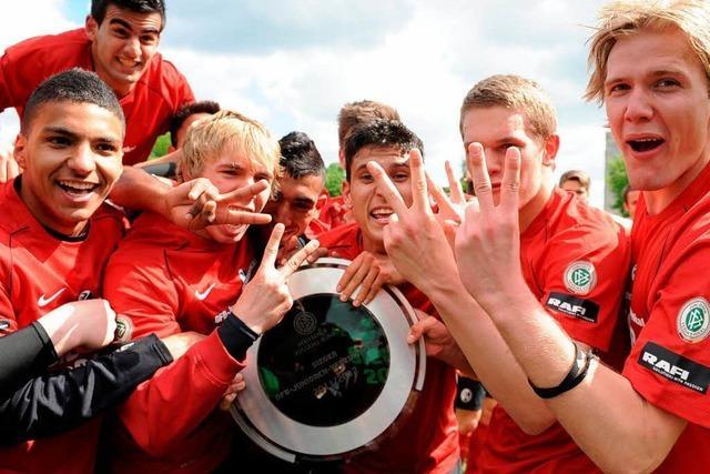 SC-Junioren holen erneut den Vereinspokal