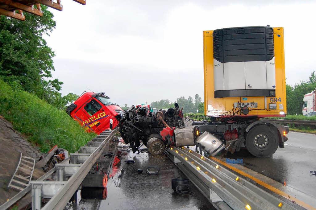 Unfall A5 Riegel