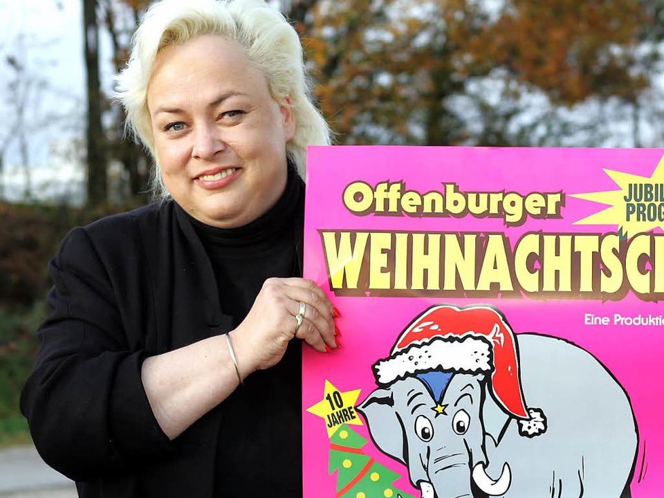 Der Offenburger Weihnachtscircus ist  ihr Leben: Anja Oschkinat.     Foto: Archivfoto: Peter Heck