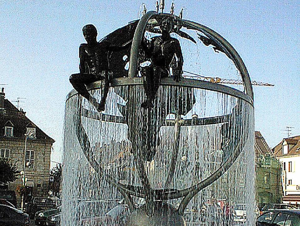 Dole ist zu Pfingsten das Ausflugsziel...Brunnen auf der Place Grévy besuchen.   | Foto: Martin Schwindt