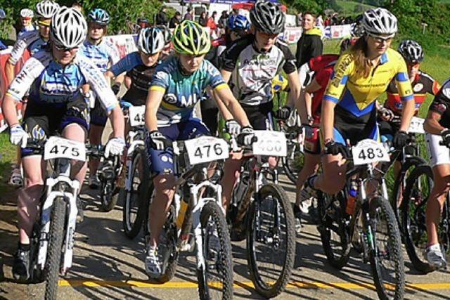 Reibungsloses Radrennen