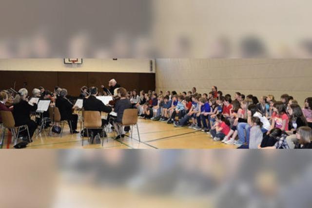 Musikstunde als besonderes Ereignis