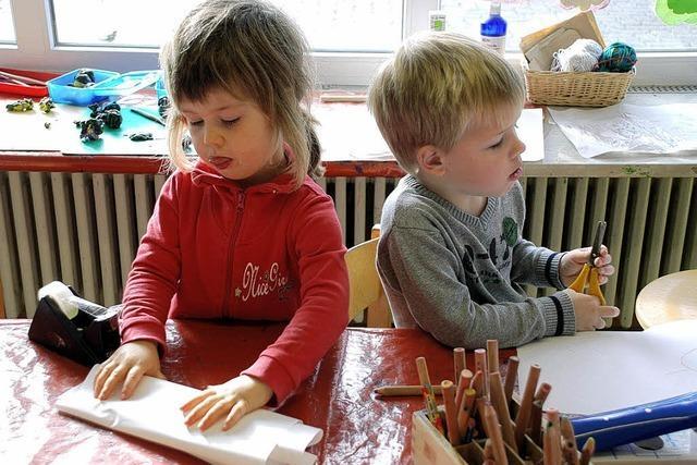 Wachstum für Kindergärten gefordert